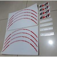 Sticker Velg EVO REGAMASTER Set Full - ring 15