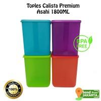 Toples Plastik Calista Asahi 1800ml Premium Sealware BPAFREE