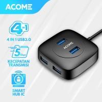 Acome Smart Hub 4 Port USB 3.0 High Speed Splitter 5GB/s AH300