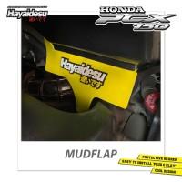 Hayaidesu Honda PCX Mudflap Penahan Lumpur