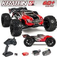 Arrma Kraton 6S BLX 4WD 1/8 Brushless Speed Monster Truck VS Traxxas