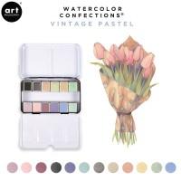 Art Philosophy - Watercolour Confections Vintage Pastel