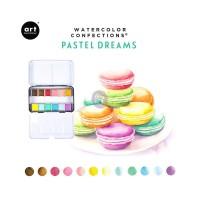 Art Philosophy - Watercolor Confections Pastel Dreams