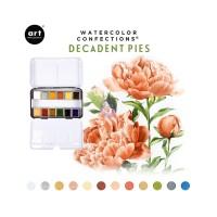 Art Philosophy - Watercolor Confections Decadent Pies