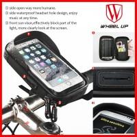 Wheel Up Holder HP Sepeda Stang Motor Waterproof Bracket Anti Air B17