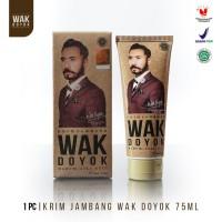 Wak Doyok Cream 75ml Original - Wakdoyok Krim Penumbuh Jambang, Rambut