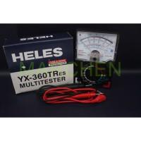 Multitester Avometer tester Analog HELES YX360 TREs