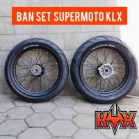 BANSET SUPERMOTO UNTUK KAWASAKI KLX / DTRACKER TINGGAL PASANG