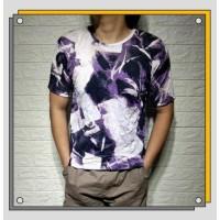 Z92 kaos polos atasan pria baju motif abstrak