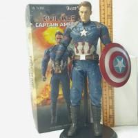 Action Figure Captain America empire toys figur koleksi mainan