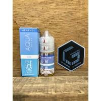 Salt Nic EJM Aqua Rush Menthol Sweet Blue Raspberry 30ml 35mg liquid