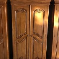 lemari pakaian jati selendang 2 pintu