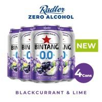 Radler Zero 0,0% Blackcurrant Lime 330ml Can 4 Pcs