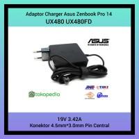 Adaptor Charger Asus Zenbook Pro 14 UX480 UX480FD 19V 3.42A Original
