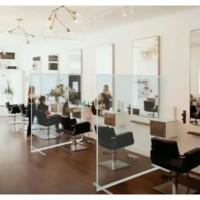 plastik Partisi Sekat Pembatas Ruangan salon kantor toko pelindung