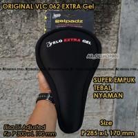 Saddle Sepeda Cover GELpadz Sarung Jok sepeda Velo Extra Gel 062 Hitam