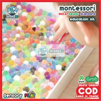 WATERBEADS Sensory Play Toys water beads Montessori Sensory Play Anak