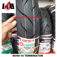 Corsa 90/90-14 Terminator Ban Tubeless Motor Matic Beat Vario