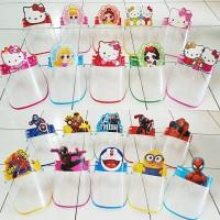 Face shield kacamata anak karakter kartun import
