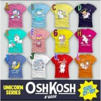 Kaos anak perempuan OSHKOSH usia 1-10th/ baju anak branded