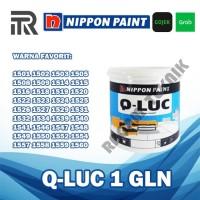 Qluc Q-Luc Kiluk Kiluq Cat Tembok Warna Nippon Paint 5 kg galon Gojek