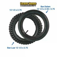 BAN MOTOR MINI TRAIL TYOE MT1 UKURAN 12 1/2 × 2.75