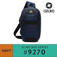 Ozuko Sling bag #9270 - Navy