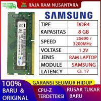 RAM LAPTOP SAMSUNG DDR4 8GB 3200 MHz 25600 ORI GAMING RAM NB DDR4 8GB