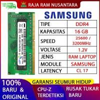RAM LAPTOP SAMSUNG DDR4 16GB 3200 MHz 25600 ORI GAMING RAM NB DDR4 8GB
