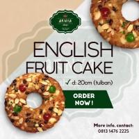 English Fruit Cake - Tulban - Diameter 20cm