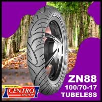 BAN ZENEOS 100/70-17, BAN TUBELESS UNTUK JUPITER MX NEW BELAKANG