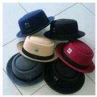 Topi Fedora Porkpie Premium Original Pria dan Wanita Dewasa
