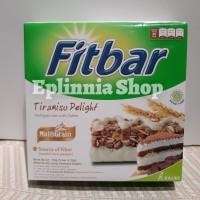 Fitbar Fit bar Tiramisu Delight Multigrain Bar With Coffee 110 gr
