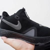 Sepatu Basket Nike PG4 Low Triple Black