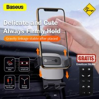 Baseus Air Vent Car Phone Holder Dudukan HP AC Mobil Original