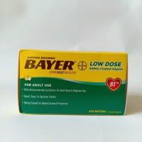 BAYER ASPIRIN LOW DOSE 400 TABLET 81mg
