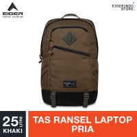 Eiger 1989 Detour 2.0 Laptop Backpack - Khaki 25L