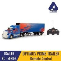 Trailer Optimus Prime Remote Control Truck Ukuran Besar Mainan Anak