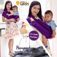 Gendongan Bayi Kaos Geos Baby Leon Polos Warna Navi Ukuran Size XL