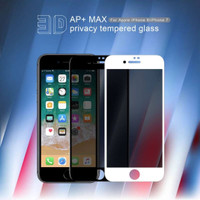 IPHONE 7 / 8 NILLKIN 3D AP+MAX TEMPERED GLASS SPY PRIVACY SCREEN GUARD