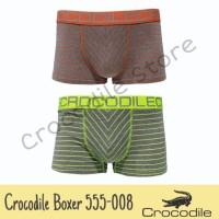 Celana Dalam/Boxer Crocodile Artikel 555-008 (2 Pcs in Box)