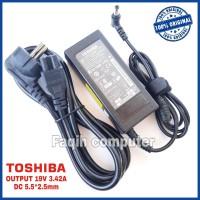 Adaptor Charger Original Laptop Toshiba Satellite C800 C840 C840D 65W