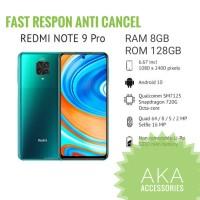 Xiaomi Redmi Note 9 Pro 8/128GB Garansi Resmi Xiaomi Indonesia