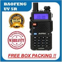 HT Baofeng UV5R Radio Komunikasi UV 5R 5Watt Dual Band Garansi 1 tahun