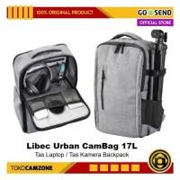 Libec Urban CamBag 17L / Tas Laptop 17 inch / Tas Ransel Kamera