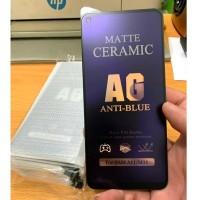Iphone X (5,8) - Tempered Glass Matte Ceramic Anti Blue Light.