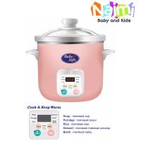 LB06D Baby Safe Slow Cooker 1.5 Liter Digital Timer