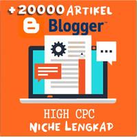 20000 Artikel Blogger Niche lengkap   Blogspot Artikel SEO