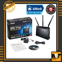 Asus RT-AC68U AC1900 Dual-Band Wi-Fi Gigabit Router