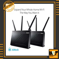 Asus RT-AC68U 2 pack AC1900 Dual-Band Wi-Fi Gigabit Router